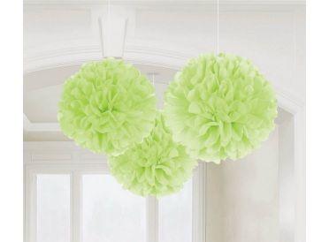 Honeydew Green Fluffy Decorations | Whish.ca