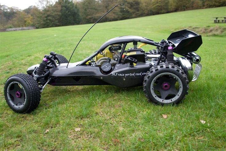 HPI Baja 5B 1/5 RC Buggy with tuned exhaust