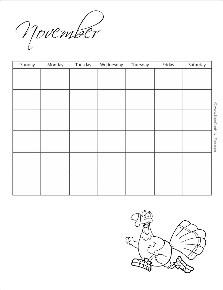 24 best Printable Calendars, Monthly, Calendar Template, Coloring ...