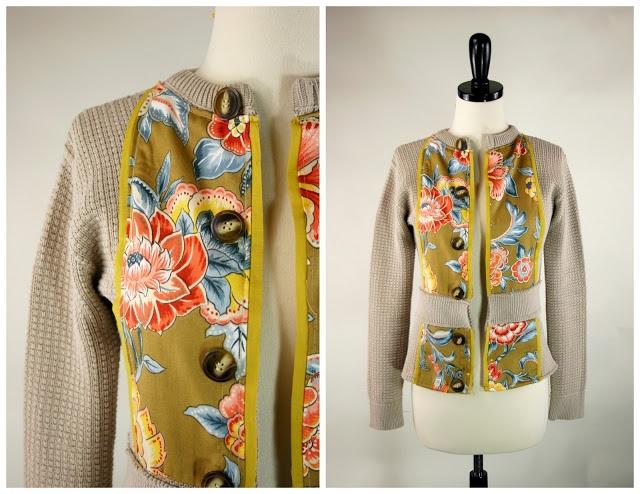 Grosgrain: Embellish Knit Month: Day 7