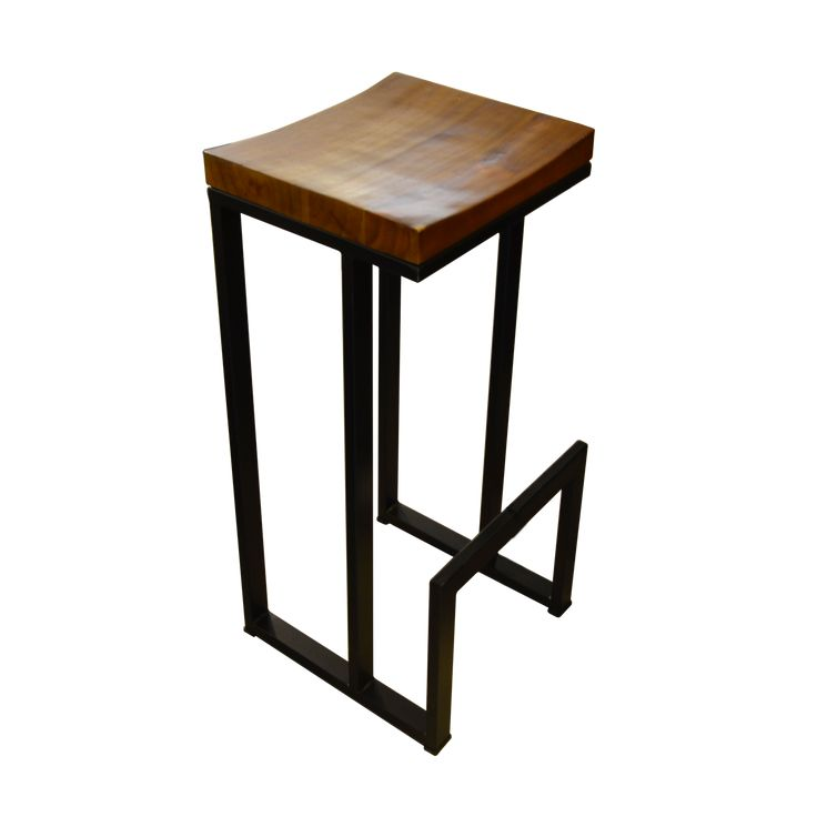 Bar Chair - Industrial 2. Industrial inspired bar chair
