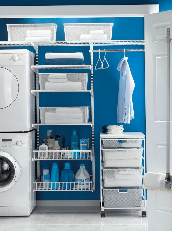 Laundry room storage / . If we end up getting a laundry this nice, l will love doing washing even more! =)