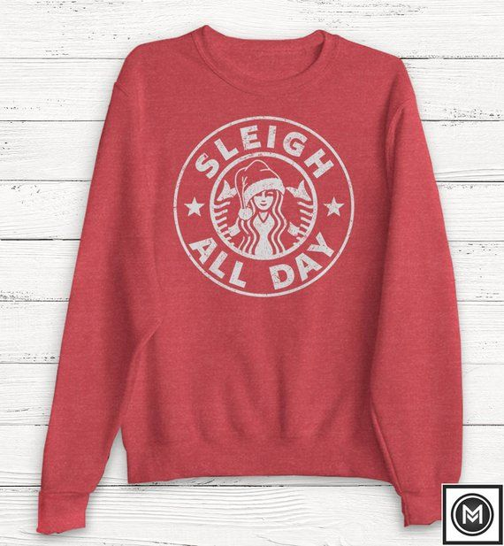 Christmas Sweater - Sleigh All Day - Women\u0027s Christmas Sweater