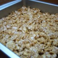 Frosted Corn Flake Bars Recipe...the trick with these is to stop eating them so the kids can have some. I'll work on that.