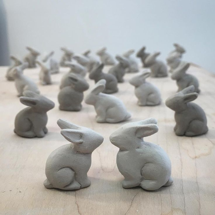 A FLUFFERY of bunnies... how cute is that???!!! Jamin!