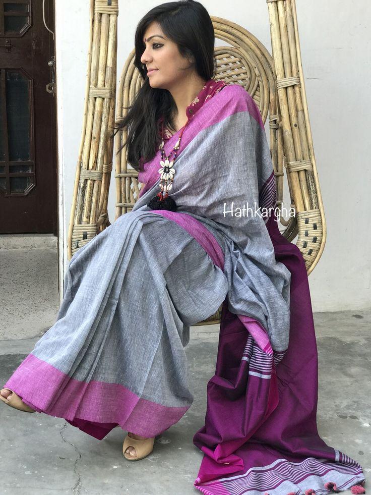 Khadi handloom sari