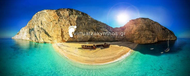 "Zakynthos Island – Shipwreck ""Navagio"" Beach | Dronestagram"