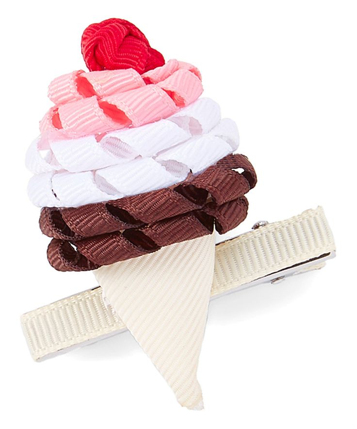 Take a look at this Yummy Ice Cream Hair Clip today!