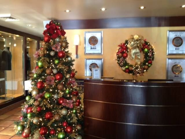Office reception area  Christmas Decorations  Pinterest  Receptions, Offic...