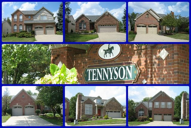 Tennyson Patio Home Community Of Sharonville Ohio. A Mix Of 2 Story And  Ranch Style