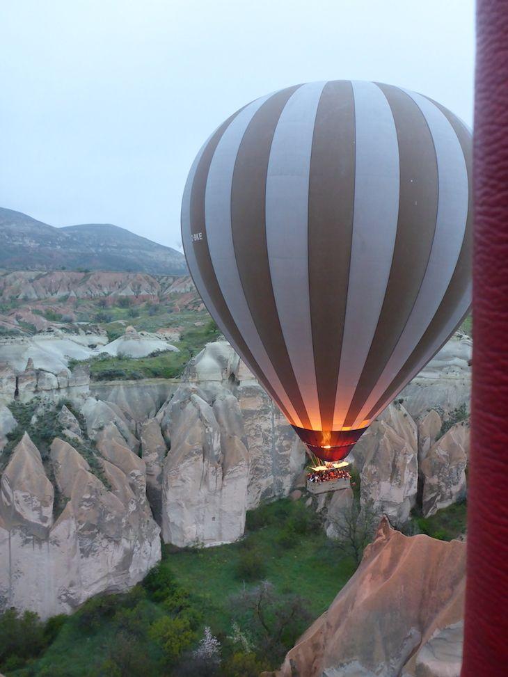 Viagem de balão na Capadócia, Turquia | Viaje Comigo