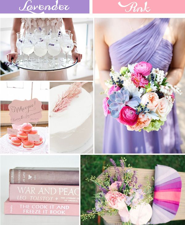 lavender and pink wedding ideas