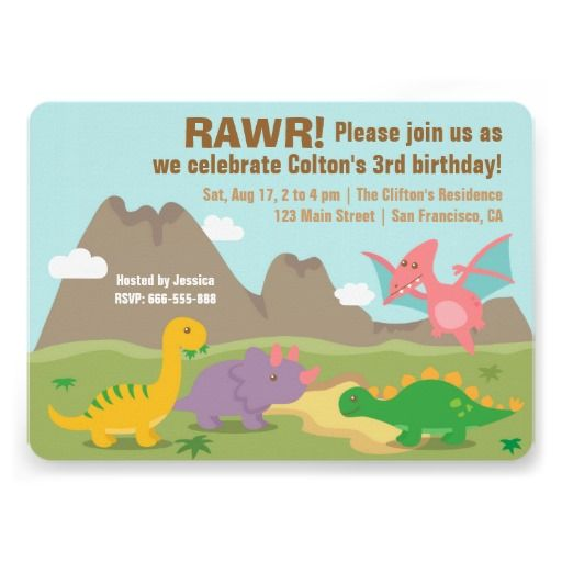 Colourful Dinosaur Kids Birthday Party. #kidsbirthdayparty #dinosaurparty
