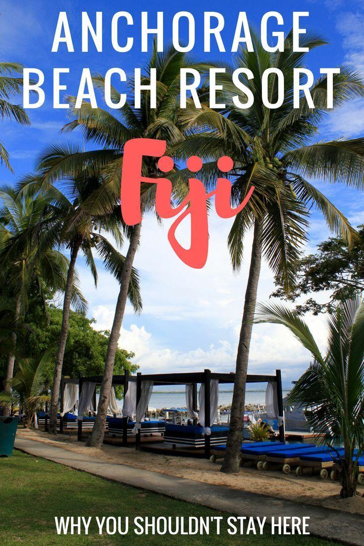Anchorage Beach Resort Fiji Great views Terrible