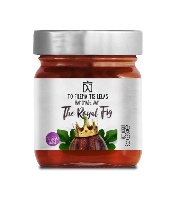 TO FILEMA TIS LELAS - HANDMADE FIG JAM