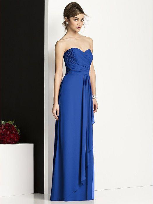 1000  images about Sapphire Bridesmaid Dresses on Pinterest ...