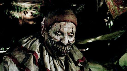 Creepy masks of our favorite AHS villains will be perfect for next Halloween, including Freak Show's Twisty the Clown!