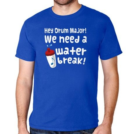 Funny Marching Band Joke T-Shirt on CafePress.com