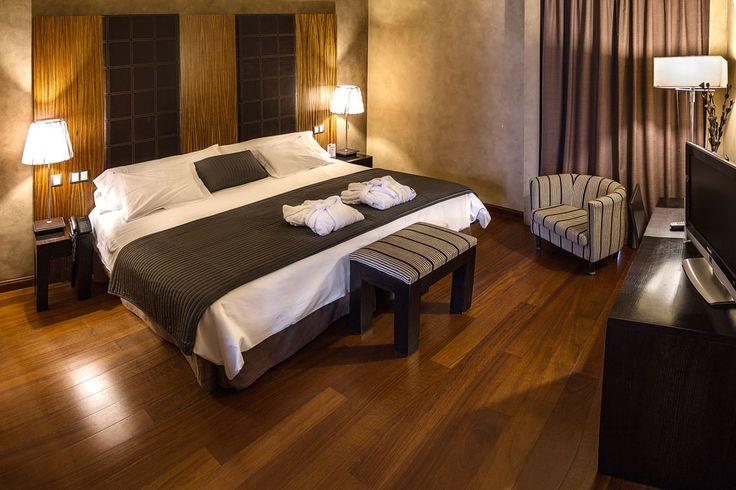 Habitación superior del Hotel La Salve, Torrijos (Toledo)