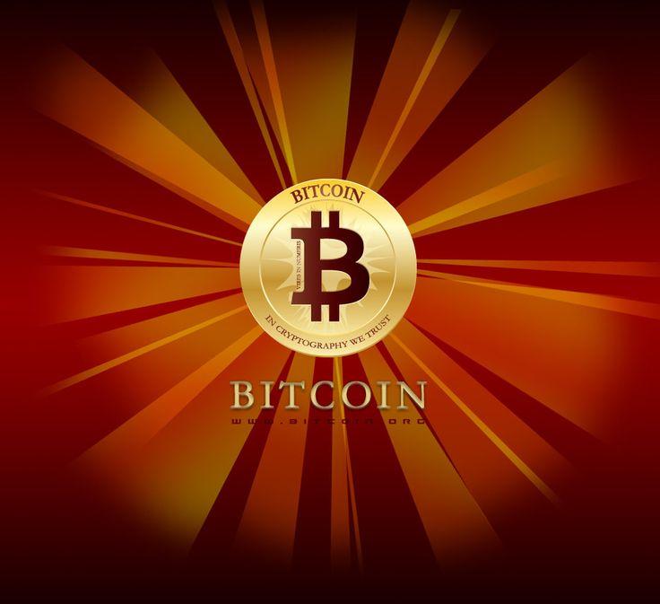 Bitcoin Red Sun