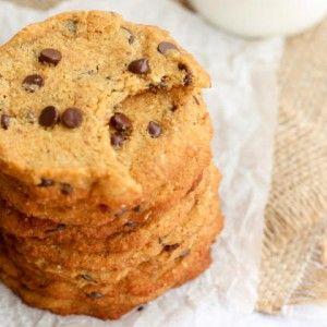 Coconut Flour Cookies (gluten free, grain free, dairy free, refined sugar free, egg free)