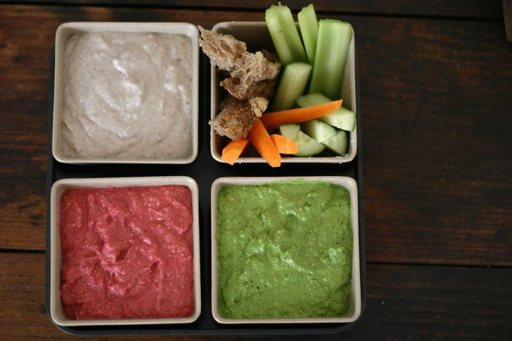 3 quick, easy and delicious dips