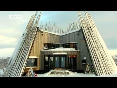 Totem Commerce fireplace by Planika  Mountain Restaurant in Sweden Tusen    #fireplace #góry #restaurant #restauracja #kominki