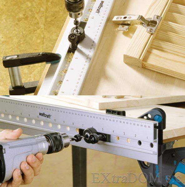 Listwa Szablon Do Polaczen Kolkowych Wolfcraft 4650000 Electronic Products Power Strip Tools