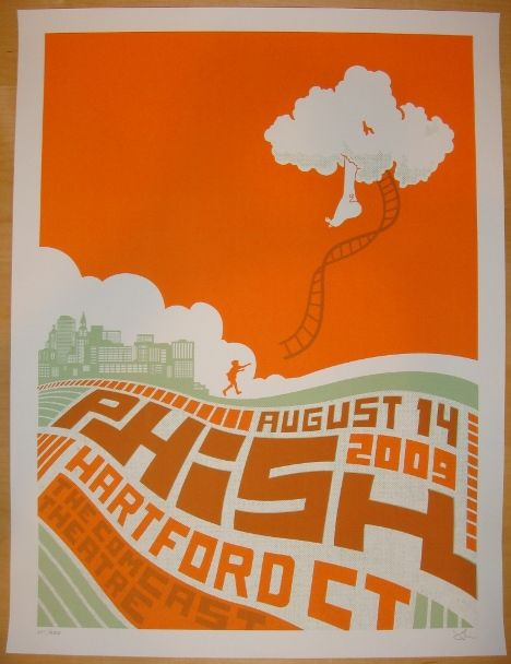 24 Best Images About Phish Posters 2009 On Pinterest
