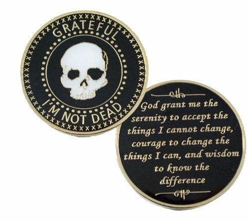 Doing It Sober - Grateful I'm Not Dead Medallion. NEW!, $17.99 (http://www.doingitsober.com/grateful-im-not-dead-medallion-new/)