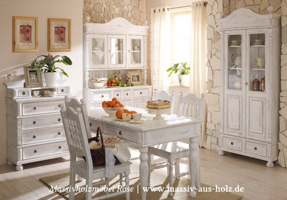 landhaus schr nke und vitrinen massiv holz kiefer shabby chic wei gewischt. Black Bedroom Furniture Sets. Home Design Ideas