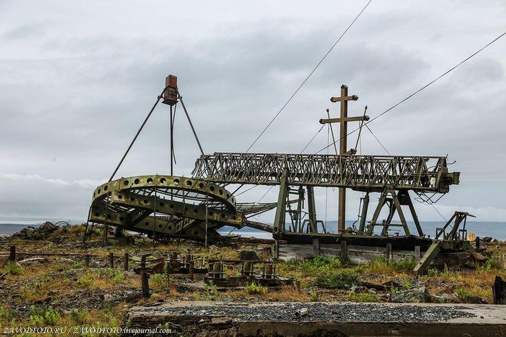 Russian abandoned Soviet antennas