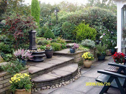 42 best images about l 39 art des escaliers de jardins on pinterest gardens wooden steps and toronto. Black Bedroom Furniture Sets. Home Design Ideas
