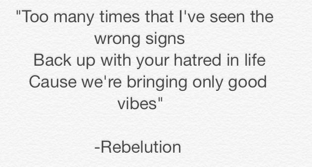Always good vibes from Rebelution!