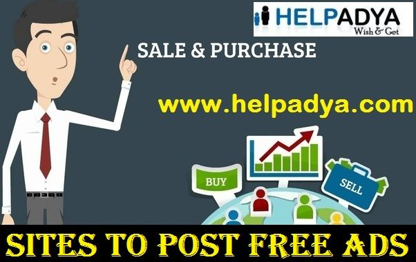 Looking For Best Sites to Post Free Ads  Help Adya known as theSites to Post Free Ads In Delhi, India? Help Adya, for best premium packages ad posting in Delhi, we advertise your products and services across all major social media platforms! Their ads for selling and buying of products and services ensure that your product receives best response and hit the target audiences! So what are you waiting for? Visit nowwww.helpadya.comor call at 8527198118.