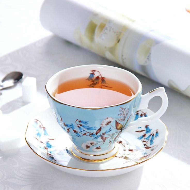 Premium bone porcelain coffee cup set/Simple Tea Cup/ creative coffee cup-A