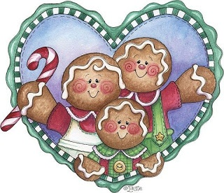 Heartful of Gingerbread Family....