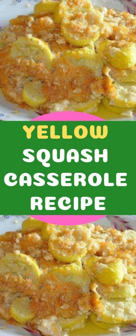 YELLOW SQUASH CASSEROLE RECIPE DIRECTIONS: 2 pou…
