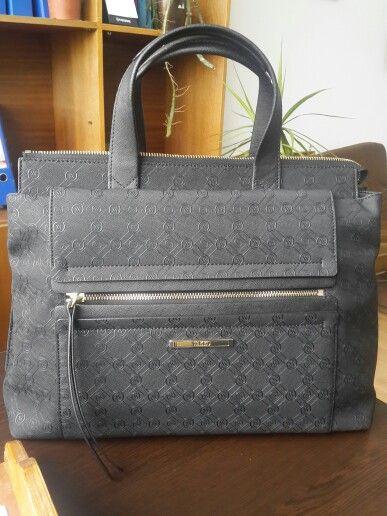Photo of Vakko Black Bag Model. Brief case