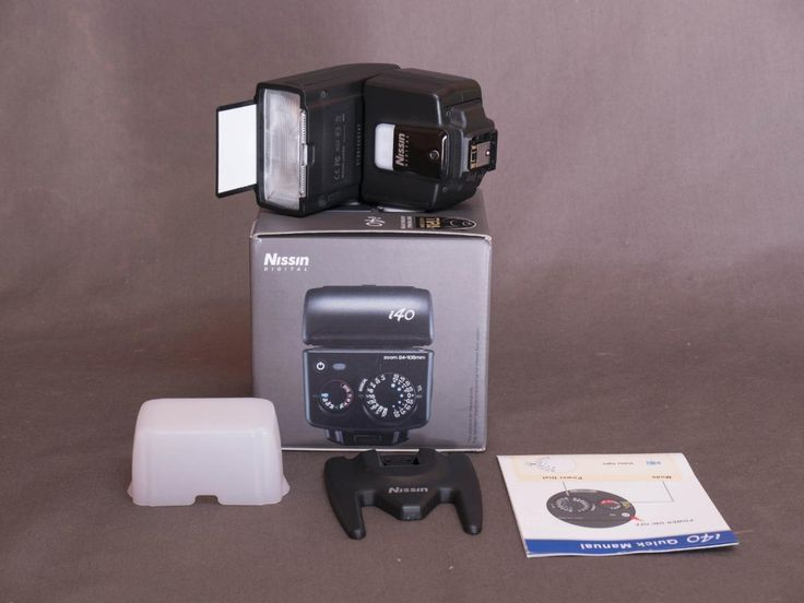 Nissin i40 flash for Sony E-mount