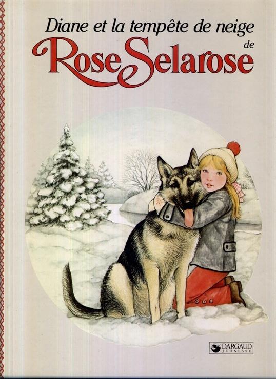 Rose Selarose Diane et la tempête de neige