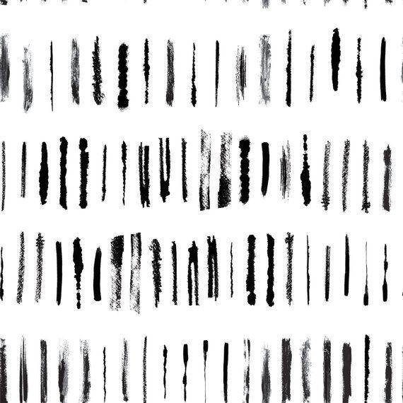 Brush Stroke Removable Wallpaper Design Black And White Self Adhesive Brush Stroke Wallpaper Peel And Stick Wallpaper With Brush Strokes Brush Stroke Wallpaper Black And White Brush Stroke Wallpaper Designer Wallpaper Brush stroke removable wallpaper