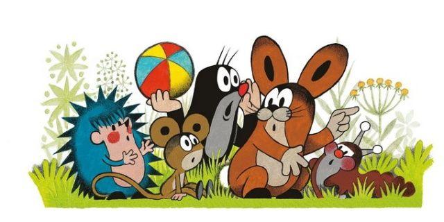 (2014-10) Muldvarpen og hans venner er forskrækkede