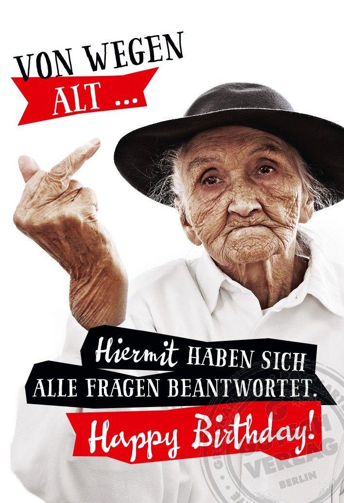 Bildergebnis für happy birthday freche bilder | Birthday saying ...