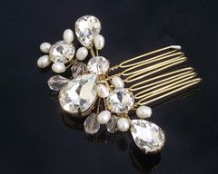 Anthea Gold Hair Comb