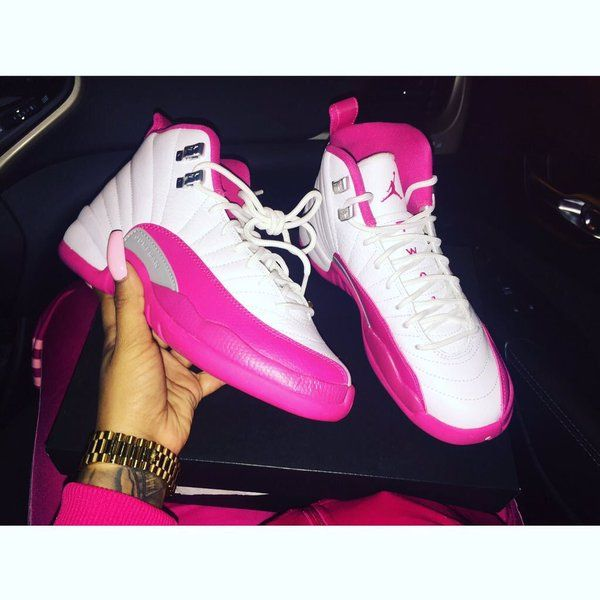Valentine Jays! 12s sexy pink and white below the thighs