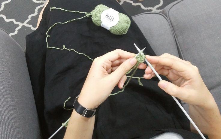 Los lunes no tienen por qué ser malos si tienes un nuevo proyecto en las agujas. Nosotros empezamos uno con el Belle de Drops, algodón, lino y viscosa en un ovillo. Te enamorará y más con un 30% de descuento. http://www.misskits.com/categoria/Drops/Belle