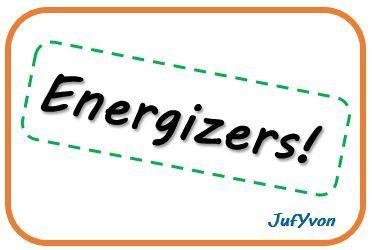 ©JufYvon: 10 leuke energizers!