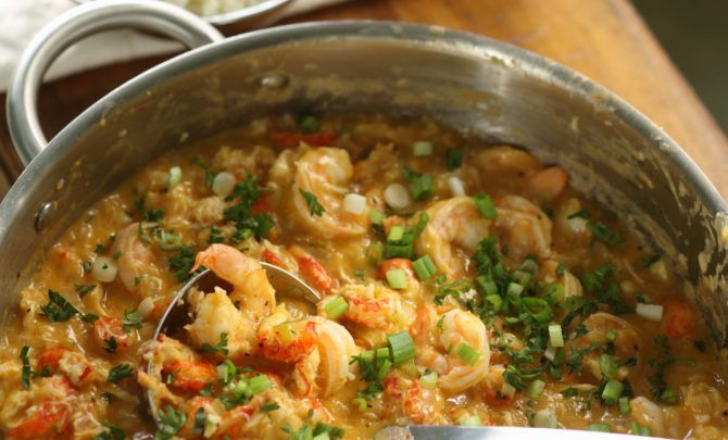 This Cajun specialty is rich and creamy.
