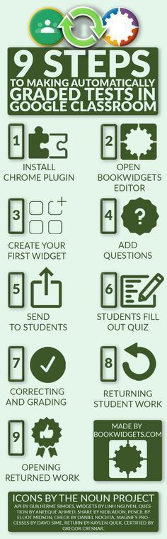 9 Steps to making automatic graded tests in Google classroom